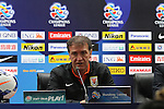 Press Conference prior to the 2014 AFC Champions League Match Day 1 Group E match between Shandong Luneng Taishan (CHN) and Buriram United (THA) on 24 February 2014 at Jinan Olympic Sports Center Stadium, Jinan, China. Photo by Stringer / Lagardere Sports