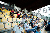tifosi durante il Triangolare precampionato nel ritiro estivo  tra Napoli , L'Aquila e il Castel Di Sangro allo stadio Patini