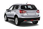 Car pictures of rear three quarter view of 2017 Suzuki SX4-S-Cross GL+ 5 Door SUV Angular Rear