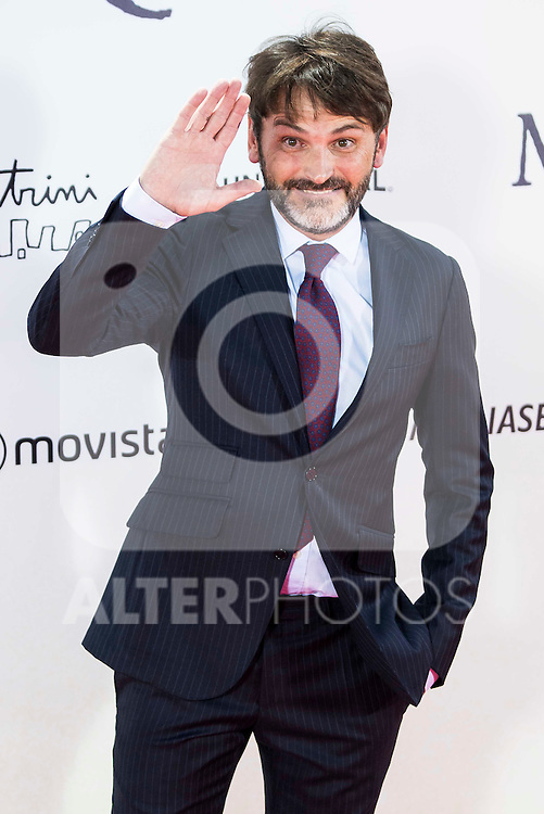 "Fernando Tejero during the premiere of the spanish film ""Un Monstruo Viene a Verme"" of J.A. Bayona at Teatro Real in Madrid. September 26, 2016. (ALTERPHOTOS/Borja B.Hojas)"