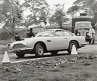 BNPS.co.uk (01202 558833)<br /> Pic: Bonhams/BNPS<br /> <br /> Racing driver Phil Scragg was the first owner.<br /> <br /> All original - Aston Martin DB4 GT - One of only 9 ever built.<br /> <br /> A super rare Aston Martin sports car has sold at auction for a whopping £2.4m after an incredible 54 years in the same ownership.<br /> <br /> The DB4 GT Lightweight dates back to 1961 and was one of only nine of its kind to be built by the British marque.<br /> <br /> Its first owner was gentleman racer and Northern industrialist Phil Scragg but it was purchased by engineer Malcolm Cramp in 1965.