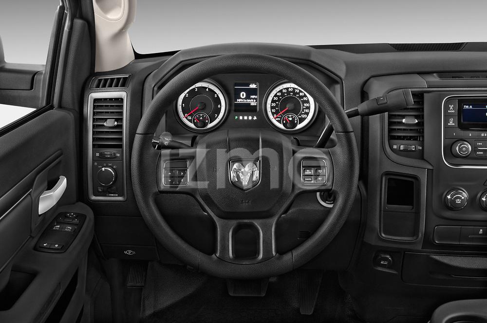 Steering wheel view of a 2017 Dodge Ram 1500 Tradesman Regular Cab