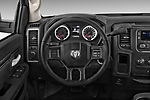 Steering wheel view of a 2017 Dodge Ram 1500 Tradesman Regular Cab