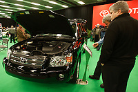 Montreal's AUTO SHOW 2007 feature many hybrid cars such as the<br /> Toyota Highlander 2007<br /> <br /> <br /> <br /> <br /> photo :  Images Distribution