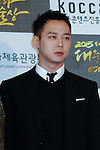 Yu-Chun (JYJ), Oct 29, 2015 : K-Pop boys group JYJ attend the 2015 Korean Popular Culture & Arts Awards held at National Theater in Seoul, South Korea on October 29, 2015. (Photo by Pasya/AFLO)