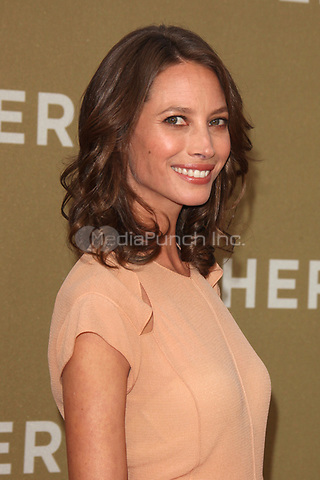Christy Turlington at the CNN Heroes: An All-Star Tribute at The Shrine Auditorium on December 11, 2011 in Los Angeles, California.