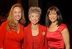 Julie Brown, Rita Moreno and Ilene Allen at the American Heart Association Go Red for Women luncheon at the InterContinental Houston Monday May 04,2009.  (Dave Rossman/For the Chronicle)