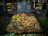 Muslim cemetery in Kruszyniany - a cemetery were founded in the second half of the seventeenth century by the Tatar community.Poland <br /> Kruszyniany village in east Poland where Muslims, Catholics and Orthodox live together. <br /> <br /> Photo: Adam Lach, n-ost,  Napo Images