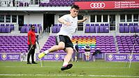 Orlando, Florida - Friday January 12, 2018: Lucas Stauffer during the agility test. The 2018 adidas MLS Player Combine Skills Testing was held Orlando City Stadium.