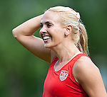 15.06.2011, Steinbergstadion, Leogang, AUT, FIFA WOMENS WORLDCUP 2011, PREPERATION, USA, im Bild Heather Mitts, (USA, #2)während eines Trainings zur Vorbereitung auf die FIFA Damen Fussball Weltmeisterschaft 2011 in Deutschland // during a Trainingssession for the FIFA Women´s Worldcup 2011 in Germany, on 2011/06/15, Steinberg Stadium, Leogang, Austria, EXPA Pictures © 2011, PhotoCredit: EXPA/ J. Feichter