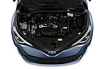 Car stock 2020 Toyota C-HR Club 5 Door SUV engine high angle detail view