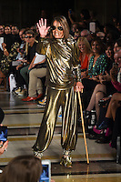 Anita Pallenberg<br /> at the Pam Hogg catwalk show as part of London Fashion Week SS17, Freemason's Hall, Covent Garden, London<br /> <br /> <br /> ©Ash Knotek  D3155  16/09/2016