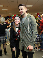 Pictured: Lukasz Fabianski Tuesday 06 December 2016<br /> Re: Swansea City FC Christmas Party at the Liberty Stadium, Wales, UK