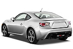Rear three quarter view of a 2013 Scion FRS