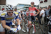 Louis Vervaeke (BEL/Lotto-Soudal) at the start<br /> <br /> Belgian Championships 2015