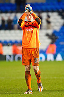 Saturday 25 January 2014<br /> Pictured: <br /> Re: Birmingham City v Swansea City FA Cup fourth round match at St. Andrew's Birimingham