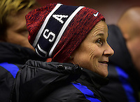 Sandy, UT - October 19, 2016: The USWNT take a 1-0 lead over Switzerland in second half action during an international friendly game at Rio Tinto Stadium.