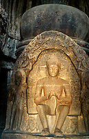 Indien, Ellora Caves (Maharashtra), Viswakarma Cave, Unesco-Weltkulturerbe