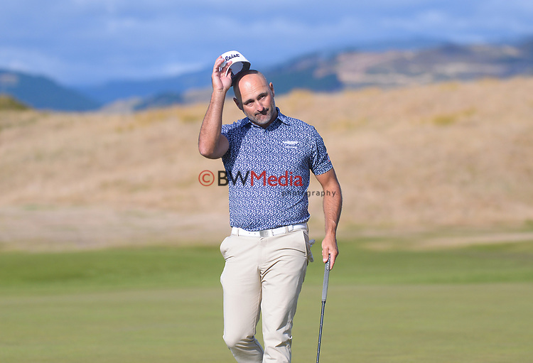 NZ Strokeplay champion Michael Hendry. Day four of the Renaissance Brewing NZ Stroke Play Championship at Paraparaumu Beach Golf Club in Paraparaumu, New Zealand on Sunday, 21 March 2021. Photo: Dave Lintott / lintottphoto.co.nz