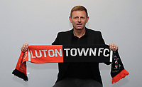 Graeme Jones unveiled as Luton FC Manager - 08.05.2019