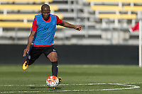 Columbus, OH - March 24, 2016: The U.S. Men's National team train in preparation for their World Cup Qualifying (WCQ) match versus Guatemala at MAPFRE Stadium.