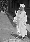 Pittsburgh PA: Sarah Stewart did her part to support the World War 1 war effort with the Red Cross.