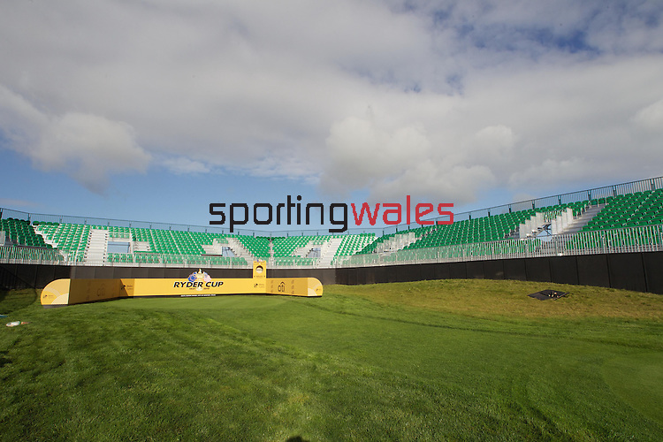 The stage is set for 2010 Ryder Cup at the Celtic Manor Resort..15.09.10.Photo Credit: Steve Pope - Sportingwales.