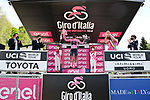 Race leader Egan Bernal (COL) Ineos Grenadiers retains the Maglia Rosa at the end of Stage 19 of the 2021 Giro d'Italia, running 176km from Abbiategrasso to Alpe Di Mera (Valsesia), Italy. 28th May 2021.  <br /> Picture: LaPresse/Gian Mattia D'Alberto | Cyclefile<br /> <br /> All photos usage must carry mandatory copyright credit (© Cyclefile | LaPresse/Gian Mattia D'Alberto)