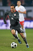Landon Donovan of the USA. The United States defeated Poland 3-0 during an international friendly at Wisla Stadium in Krakow, Poland on March 26, 2008.