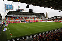 General view of Brentford FC's new Stadium during Brentford vs Preston North End, Sky Bet EFL Championship Football at the Brentford Community Stadium on 4th October 2020