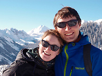 Pictured: Peter Kirkwood with wife Kerri Ann<br /> Re: Tributes have been paid Peter Kirkwood who died while climbing a mountain in New Zealand.<br /> The 33 year old man, and fellow Brit Richard Phillips, 46, died while climbing Taranaki Maunga earlier this month.<br /> Dr Kirkwood, a Cambridge graduate, was born and raised in Cardiff before moving abroad.