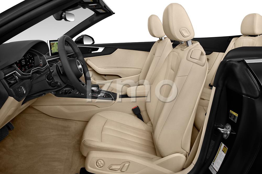 Front seat view of 2019 Audi A5-Cabriolet Premium-Plus 2 Door Convertible Front Seat