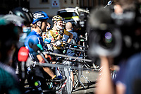 Tom Dumoulin (NED/Jumbo-Visma) post stage interview<br /> <br /> Stage 7 from Millau to Lavaur 168km<br /> 107th Tour de France 2020 (2.UWT)<br /> (the 'postponed edition' held in september)<br /> ©kramon