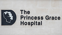The Princess Grace Hospital in Marylebone Road, City of London, London, England on 1 March 2018. Photo by Andy Rowland.