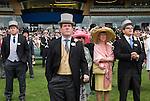 The Royal Enclosure, and new grandstand. Horse racing at Royal Ascot, Berkshire, England. 2006.