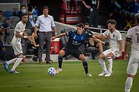 SAN JOSE, CA - SEPTEMBER 05: Shea Salinas #6 during a game between Colorado Rapids and San Jose Earthquakes at Earthquakes Stadium on September 05, 2020 in San Jose, California.