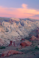 Hall Creek Valley & Waterpocket Fold <br />