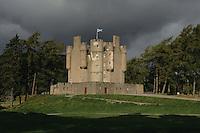 Braemar Castle, Braemar, Aberdeenshire<br /> <br /> Copyright www.scottishhorizons.co.uk/Keith Fergus 2011 All Rights Reserved