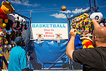 Guilford Fair. Midway game. Basketball concession