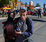 Doug and 4-year old grandson Gunner during Pumpkin Palooza on Sunday Oct. 21, 2018 in Sparks, Nevada.
