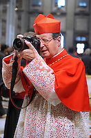 Cardinal Giovanni Lajolo  is the current Cardinal President of the Pontifical Commission for Vatican City State and President of the Governorate of Vatican City State,during the Eucharistic celebration with the new cardinals on November 21, 2010