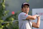 Liang Wenchong of China tees off during the 58th UBS Hong Kong Golf Open as part of the European Tour on 10 December 2016, at the Hong Kong Golf Club, Fanling, Hong Kong, China. Photo by Vivek Prakash / Power Sport Images