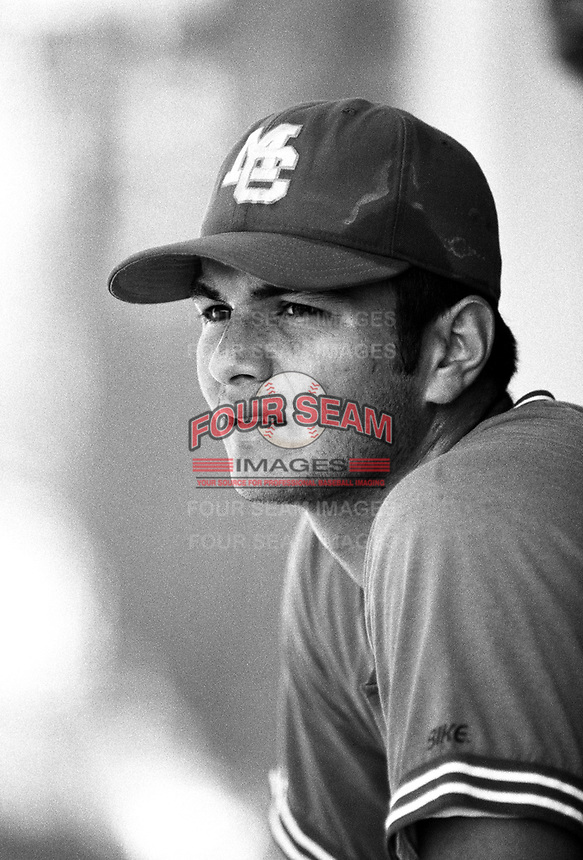 Eric Chavez of Mount Carmel High School at Mount Carmel H.S. in San Diego,California during the 1996 season. (Larry Goren/Four Seam Images)
