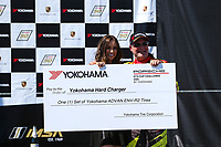 Race 1, Yokohama Hard Charger Award, #4 MCR Racing, Porsche 991 / 2019, GT3P: Michael Mennella (M)