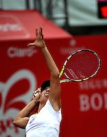 BOGOTA - COLOMBIA - FEBRERO 19: Francesca Schiavone de Italia, en acción durante partido por la Copa de Tenis WTA Bogotá, febrero 19 de 2013. (Foto: VizzorImage / Luis Ramírez / Staff). Francesca Schiavone from Italia in action during a match for the WTA Bogota Tennis Cup, on February 19, 2013, in Bogota, Colombia. (Photo: VizzorImage / Luis Ramirez / Staff)