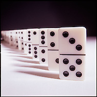 Still life of dominos<br />