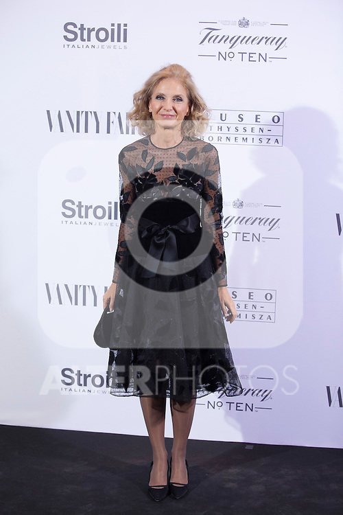 Pilar Medina Sidonia poses during the 'HUBERT DE GIVENCHY' exhibition inauguration at THYSSEN-BORNEMISZA museum in Madrid, Spain. October 20, 2014. (ALTERPHOTOS/Victor Blanco)