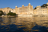 Udaipur,Rajasthan,  India. City Palace. Fateh Prakash Palace and hotel.