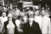 Blurred crowd<br />