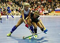 Marcia VENTER, Lisa Altenburg /   /        /   <br /> / Sport / Hockey Hnhockey / World Championships Weltmeisterschaft Damen /  2017/2018 / 07.02.2018 / GER BRGermany vs. Namibia  *** Local Caption *** © pixathlon<br /> Contact: +49-40-22 63 02 60 , info@pixathlon.de